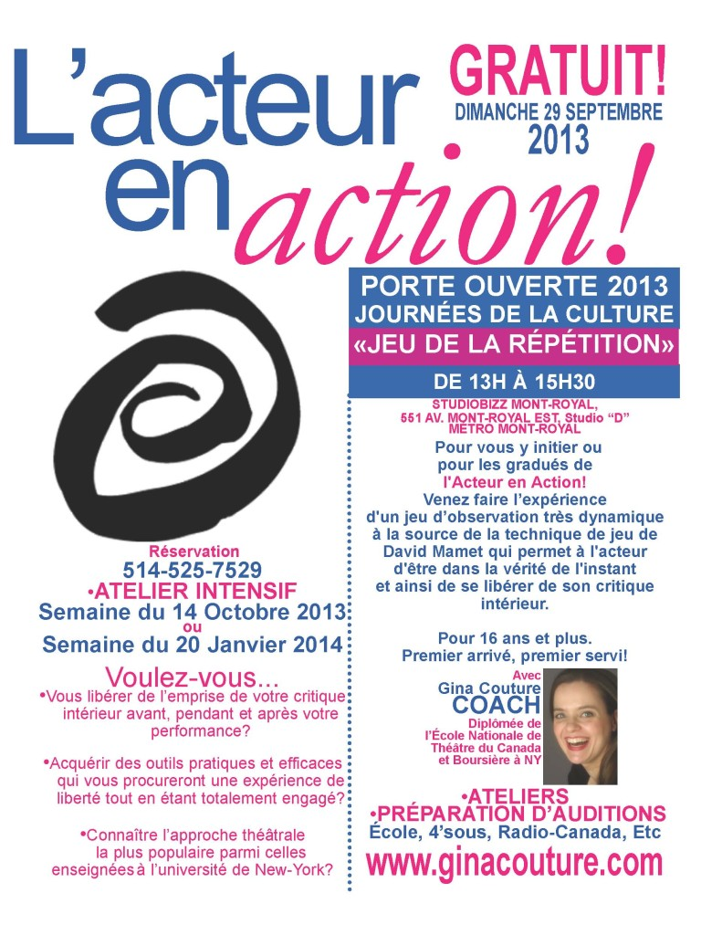 JDLC2013ActeurEnAction!
